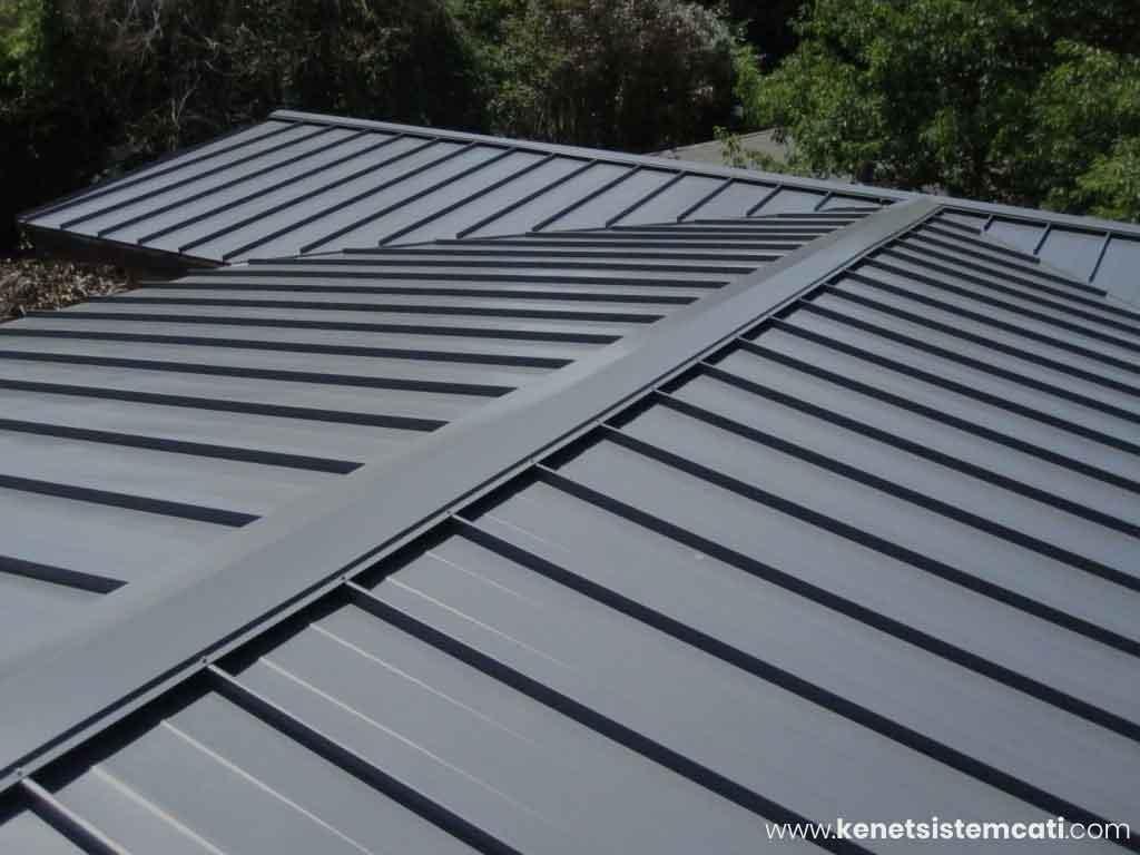Kenetli Titanyum Çatı